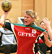 Antje Lauenroth zieht ab - HSC 2000 Magdeburg  (Saison 2005/06)