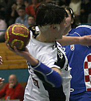 Anja Althaus, CRO - GER, 4-Nationen-Turnier Riesa 2007<br />
