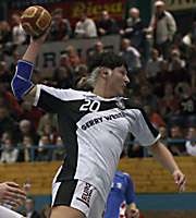 Anja Althaus, CRO - GER, 4-Nationen-Turnier Riesa 2007
