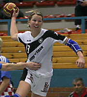 Nadine Krause, CRO - GER, 4-Nationen-Turnier Riesa 2007