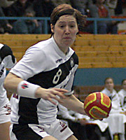 Anne Müller, CRO - GER, 4-Nationen-Turnier Riesa 2007