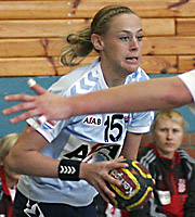 Maura Visser. CRO - NED, 4-Nationen-Turnier Riesa 2007