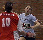 Jolanda Robben, RUS - NED, 4-Nationen-Turnier Riesa 2007