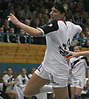 Anja Althaus. NED - GER, 4-Nationen-Turnier, Riesa 2007