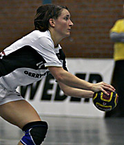Maren Baumbach. NED - GER, 4-Nationen-Turnier, Riesa 2007