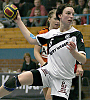 Angie Geschke. NED - GER, 4-Nationen-Turnier, Riesa 2007