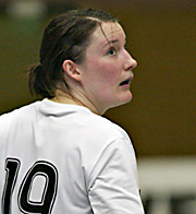 Stefanie Melbeck. NED - GER, 4-Nationen-Turnier, Riesa 2007