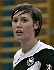 Anne Müller. NED - GER, 4-Nationen-Turnier, Riesa 2007