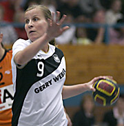 Nora Reiche. NED - GER, 4-Nationen-Turnier, Riesa 2007