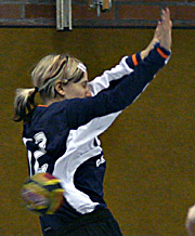 Katja Schülke. NED - GER, 4-Nationen-Turnier, Riesa 2007