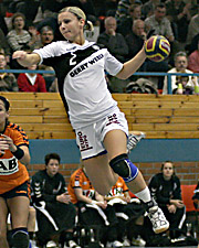 Ulrike Stange. NED - GER, 4-Nationen-Turnier, Riesa 2007<br />