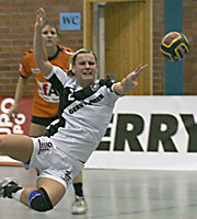 Ulrike Stange. NED - GER, 4-Nationen-Turnier, Riesa 2007
