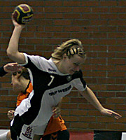 Nina Wörz. NED - GER, 4-Nationen-Turnier, Riesa 2007