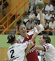 Christina Rohde. 1. FCN - HSG Blomberg-Lippe (20.09.2006)