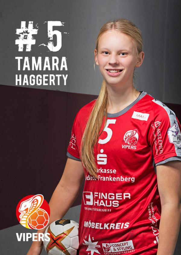 Tamara Haggerty - HSG Bad Wildungen Vipers 2017/18