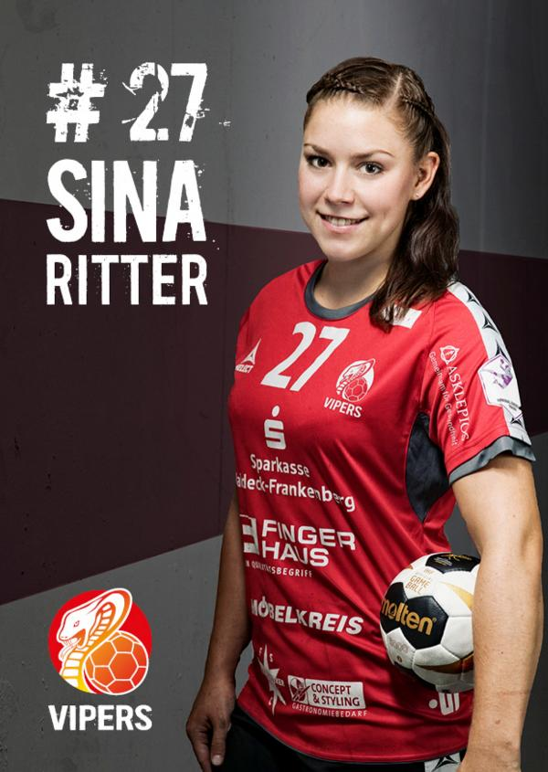 Sina Ritter - HSG Bad Wildungen Vipers 2017/18