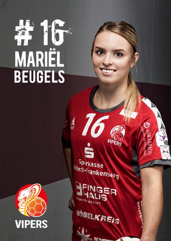 Mariel Beugels - HSG Bad Wildungen Vipers 2017/18