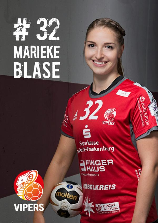 Marieke Blase - HSG Bad Wildungen Vipers 2017/18