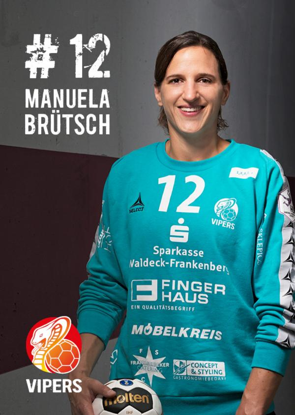 Manuela Brütsch - HSG Bad Wildungen Vipers 2017/18
