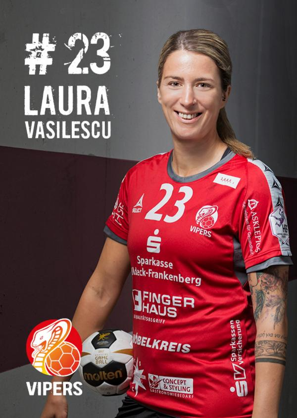 Laura Vasilescu - HSG Bad Wildungen Vipers 2017/18