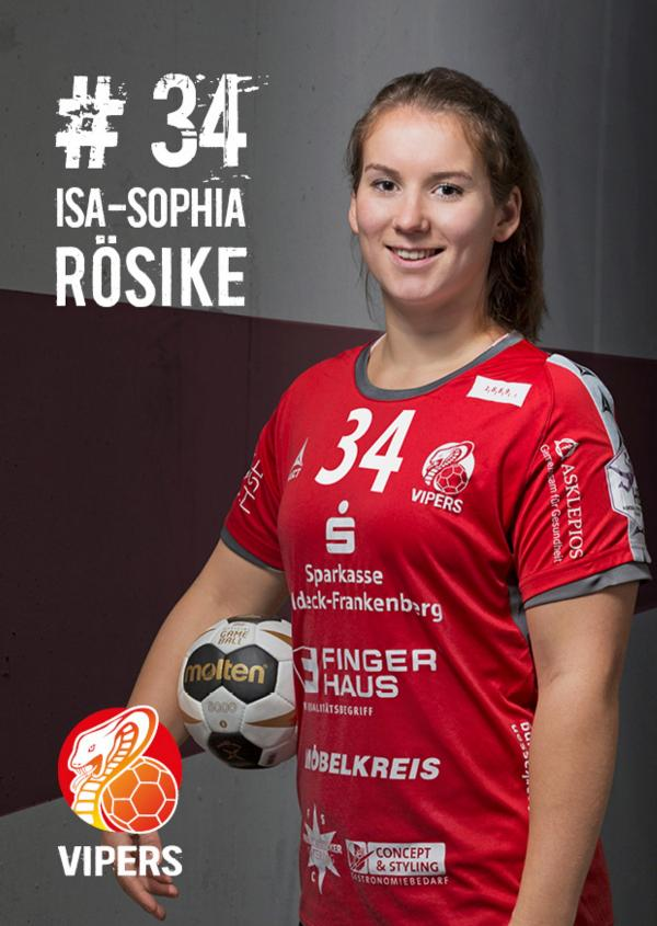 Isa-Sophie Rösike - HSG Bad Wildungen Vipers 2017/18