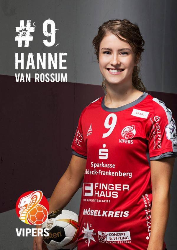 Hanne van Rossum - HSG Bad Wildungen Vipers 2017/18