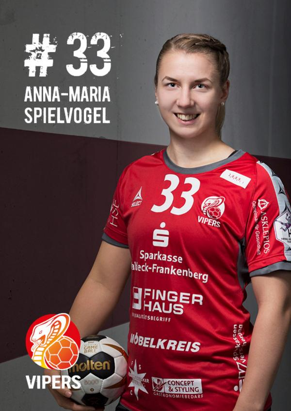 Anna-Maria Spielvogel - HSG Bad Wildungen Vipers 2017/18
