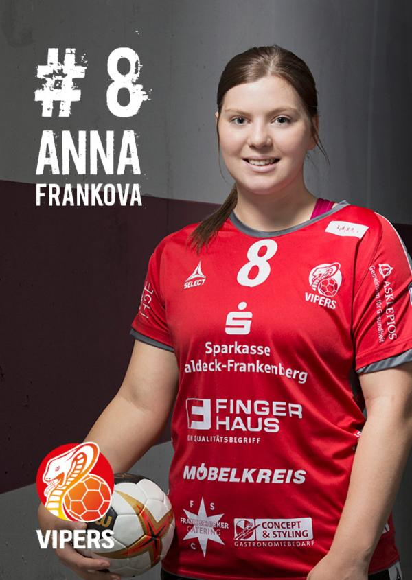 Anna Frankova - HSG Bad Wildungen Vipers 2017/18
