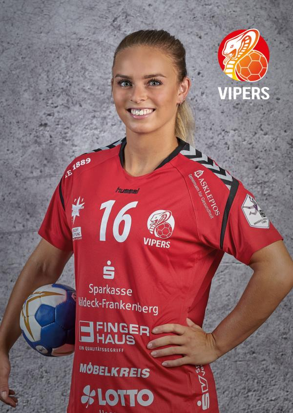 Mariel Beugels - HSG Bad Wildungen Vipers 2018/19