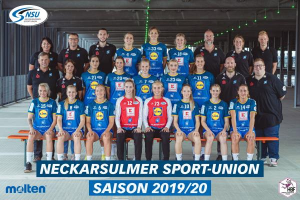 Team - Neckarsulmer Sport Union 2019/20 - HBF 2019/20