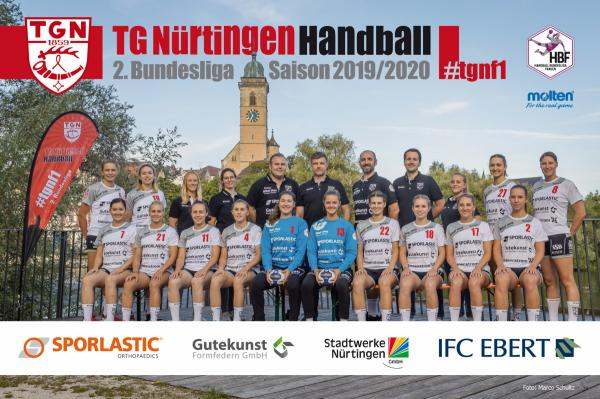 Team - TG Nürtingen 2019/20 - HBF2 2019/20