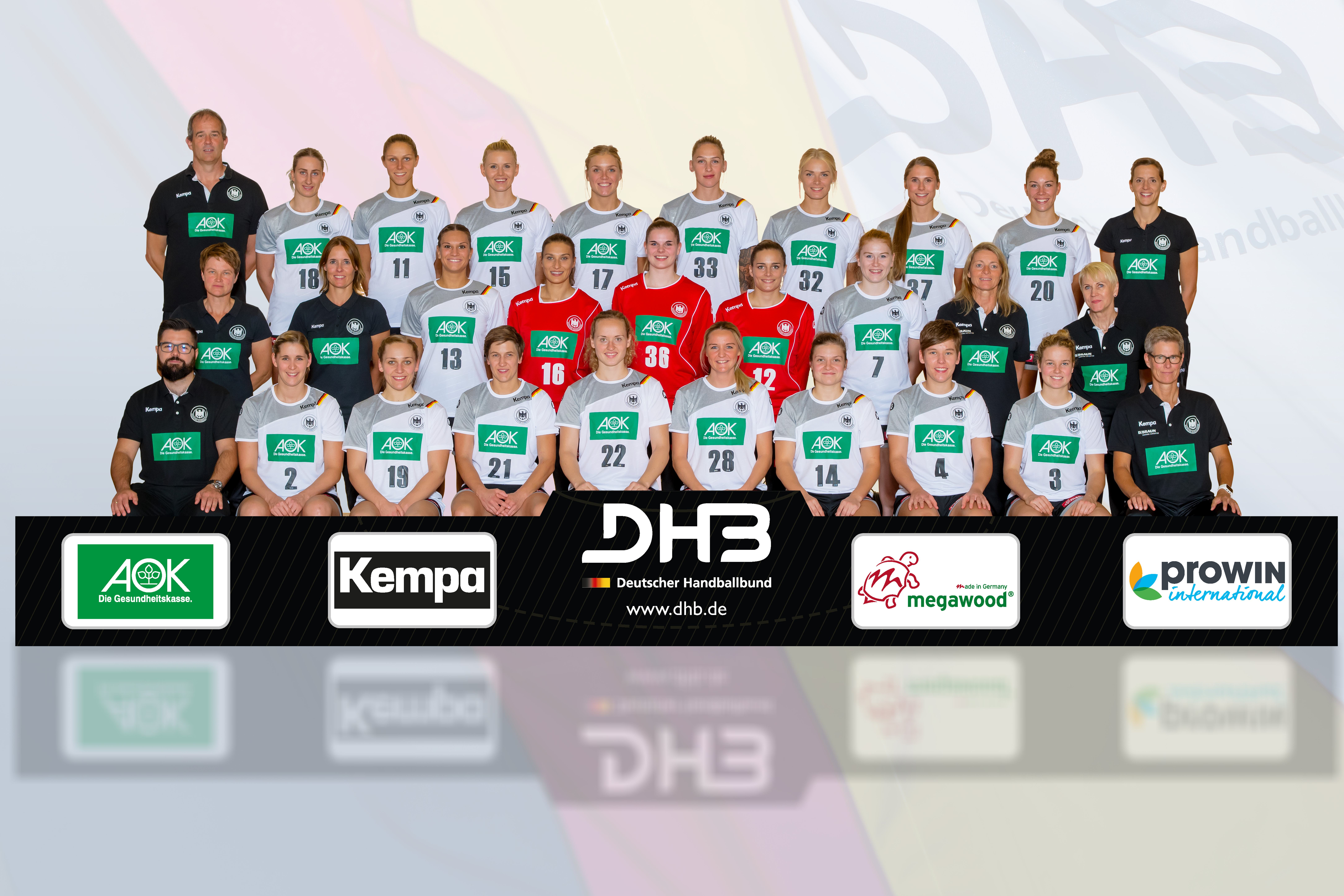 DHB Frauen-Nationalmannschaft, September 2018
