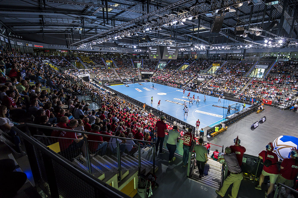 OLYMP Final4 2019 - Volle Arena